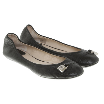 Christian Dior Ballerinas in black