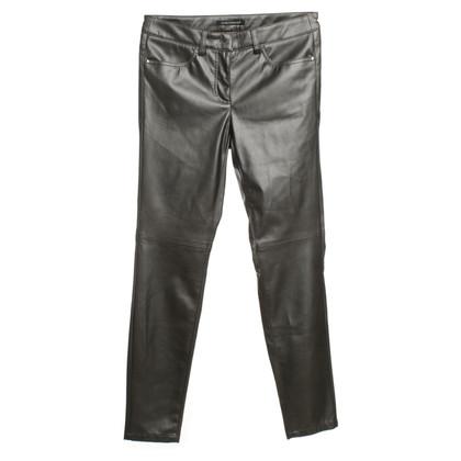 Luisa Cerano Pants imitation leather
