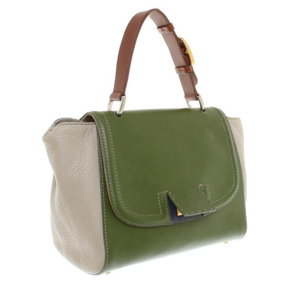 Fendi Handtas in groen