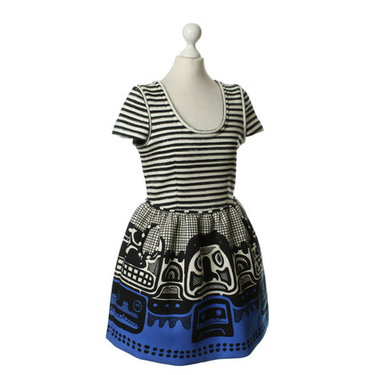 JC de Castelbajac Patterned balloon dress