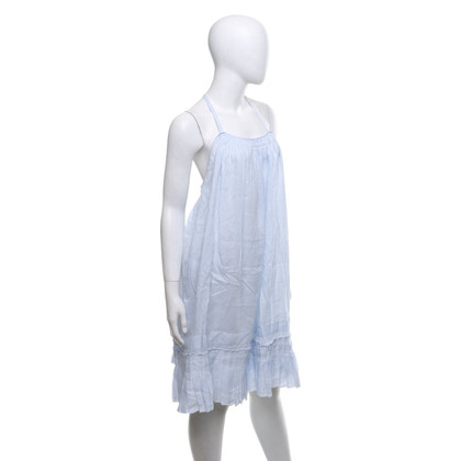 See by Chloé Abito a righe in blu / bianco