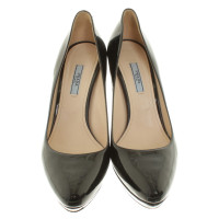 Prada pumps made of patent leather