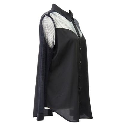 BCBG Max Azria blouse zwart