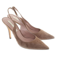 Pura Lopez pumps from suede