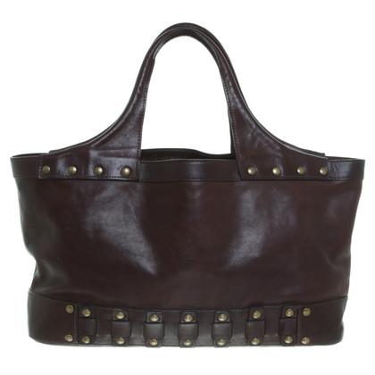 dkny handtasche in braun second hand dkny handtasche in braun gebraucht kaufen f r 110 00. Black Bedroom Furniture Sets. Home Design Ideas