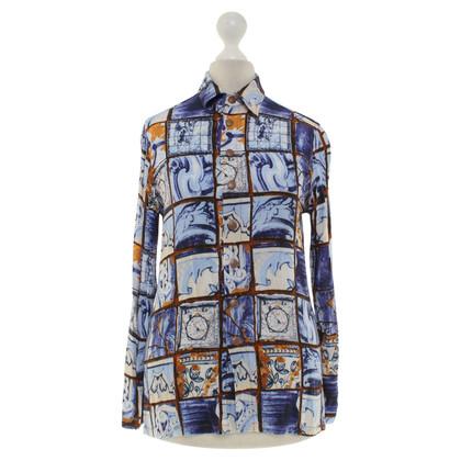 Jean Paul Gaultier Blouse with pattern