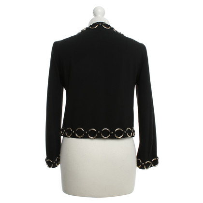 Moschino Cheap and Chic Blazer mit Ring-Applikationen