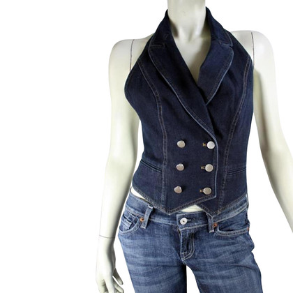 Christian Dior denim gilet