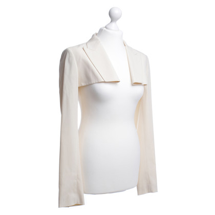 Jean Paul Gaultier Bolero Blazer in cream