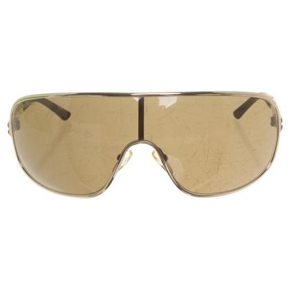 Max Mara Monoshade-Sonnenbrille in Grün