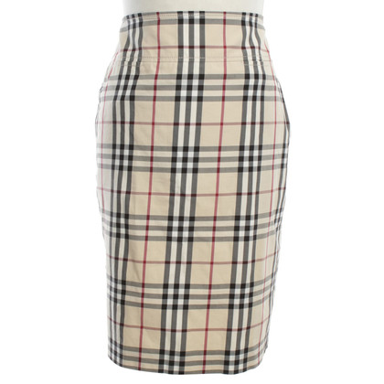 Burberry skirt with logo motif