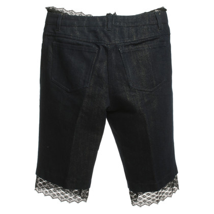 Chanel Jean pantaloncini con pizzo