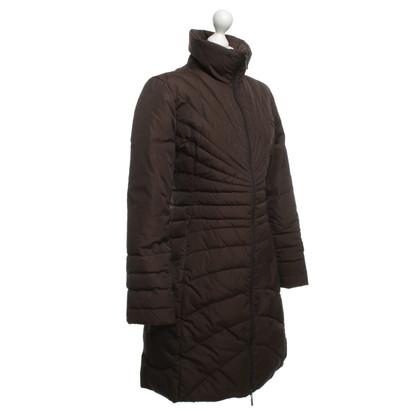 Moncler Naar beneden van donkerbruin jas