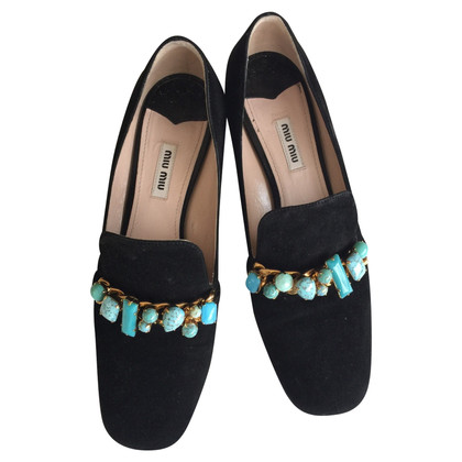 Miu Miu Miu Miu Loafer Loafers Mary Janes 40