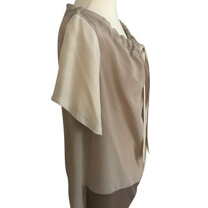 Schumacher Camicia di seta Talpa / Nuda