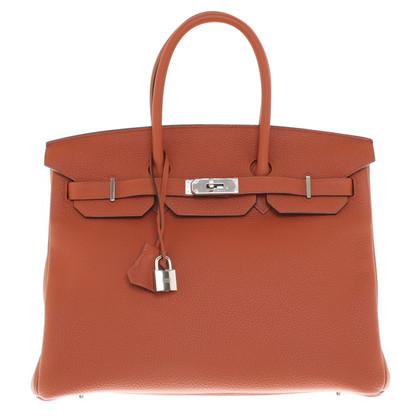 "Hermès ""Leather Birkin 35 Togo"""