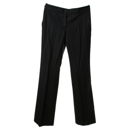 Moschino Pantaloni con pin-striped-modello