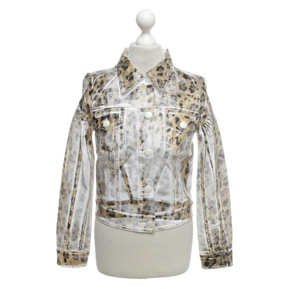 Blumarine Jacket with leopard pattern