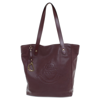 Ralph Lauren Tote Bag in Bordeaux