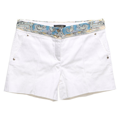 Roberto Cavalli Shorts in het wit