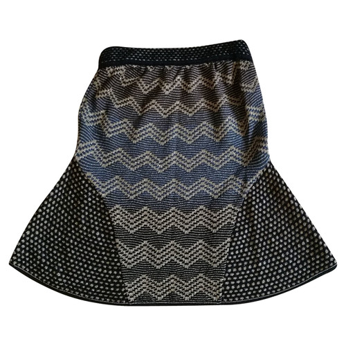 Missoni Knitted Skirt With Pattern Second Hand Missoni Knitted