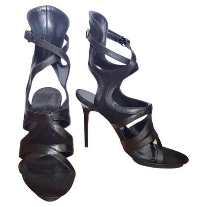 Balenciaga Schwarze Sandaletten