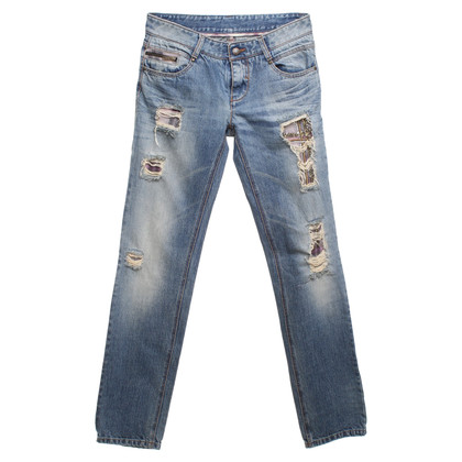 Ermanno Scervino Jeans im Destroyed-Look