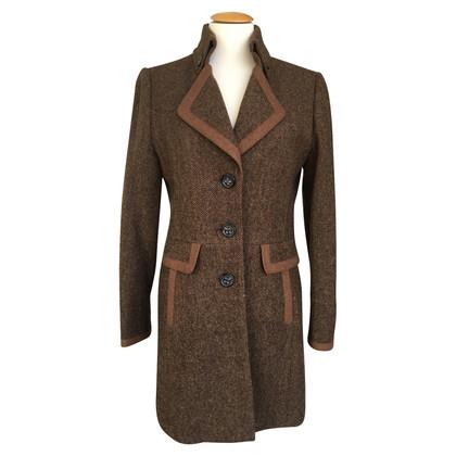 Bogner tweed coat