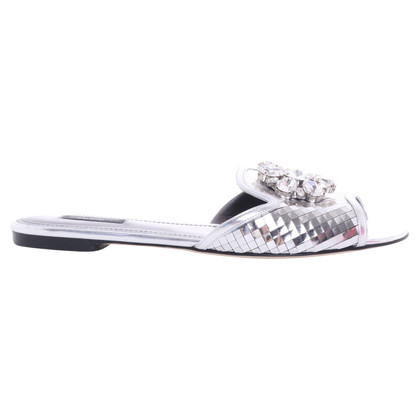 Dolce & Gabbana Silver colored sandals