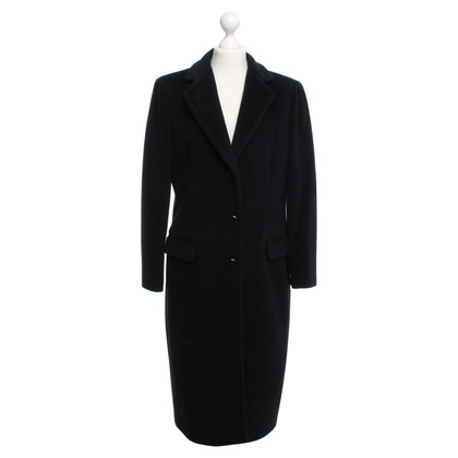 Armani Collezioni zwart wol jas