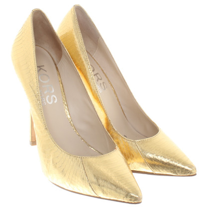 Michael Kors Goudkleurig pumps