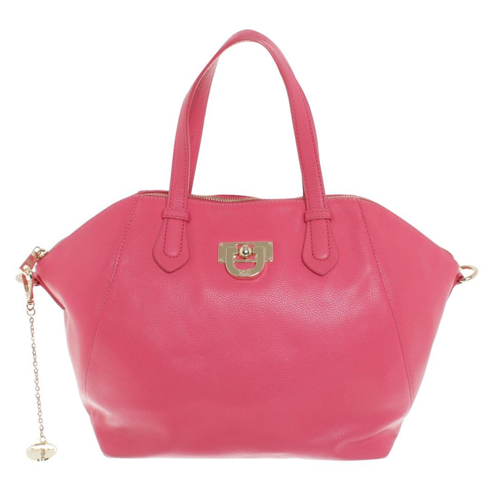 dkny handtasche in pink second hand dkny handtasche in pink gebraucht kaufen f r 149 00. Black Bedroom Furniture Sets. Home Design Ideas