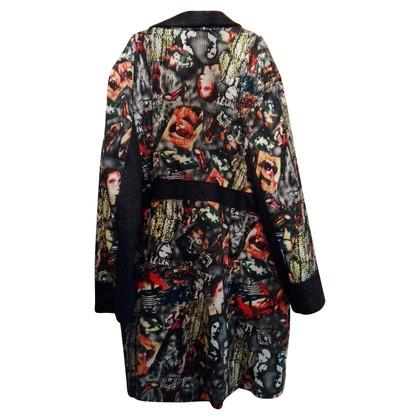 Prada Coat met print