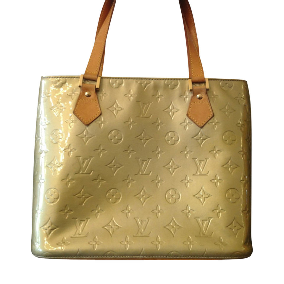 Louis Vuitton Louis Vuitton Tas Houston in verf vernis   Koop tweedehands Louis Vuitton Louis