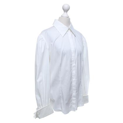 Max Mara Camicetta da camicia bianca