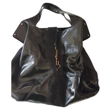 Fay Original Fay bag in black paint and matte