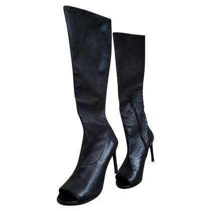 Stuart Weitzman Peep toe boots