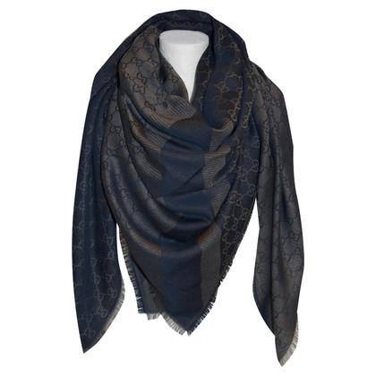 Gucci Guccissima cloth in blue / brown