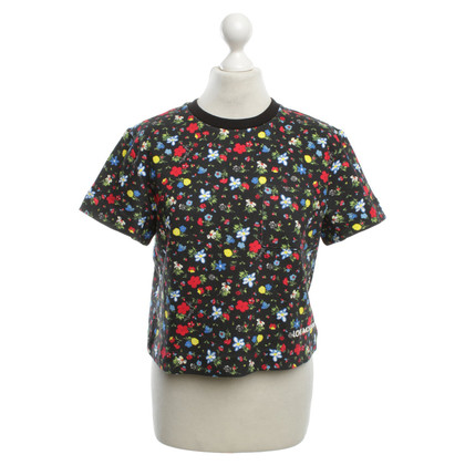 Moschino Love top with floral pattern
