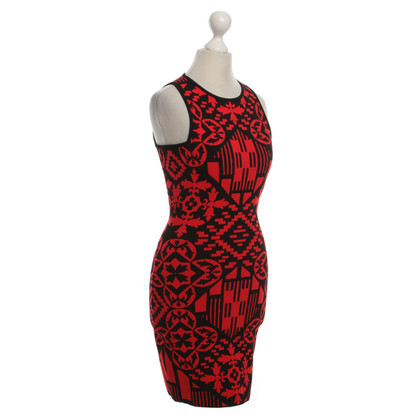Alexander McQueen Mini dress with geometric pattern