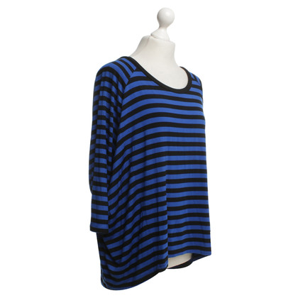 Michael Kors Striped shirt in blue / black