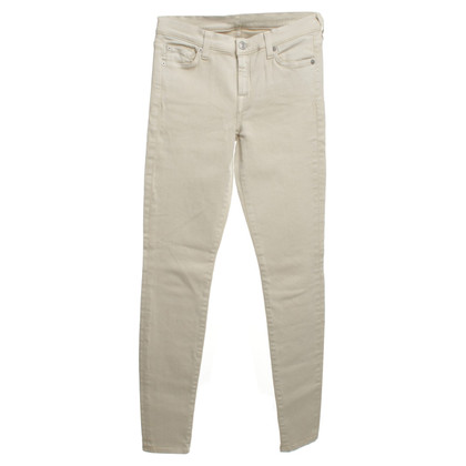 7 For All Mankind Jeans dans Beige