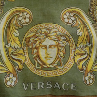Versace Stole of silk / wool