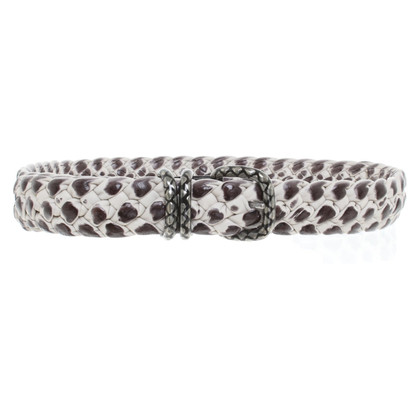 Bottega Veneta Belt in black and white