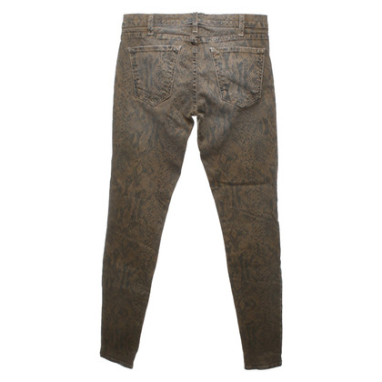 Current Elliott Jeans con motivo a serpenti