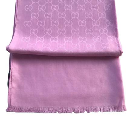 Gucci Sjaal met Guccissima patroon