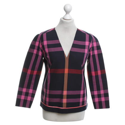 Paul Smith top with checked pattern