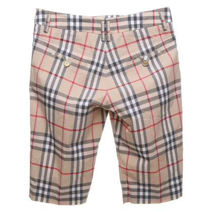 Burberry Bermuda with pattern