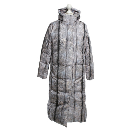Maison Martin Margiela Down coat with Fellprint