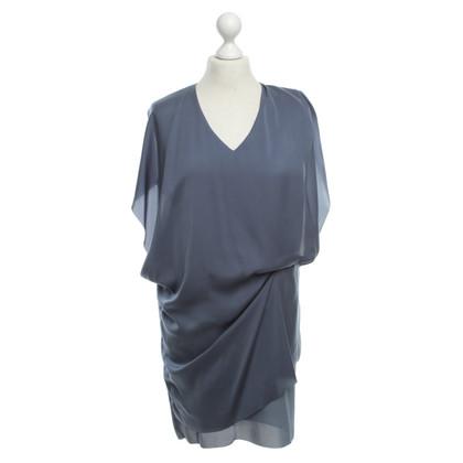 Acne Blauwe jurk